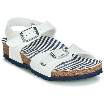 Chaussures Fille Sandales et Nu-pieds Birkenstock RIO WHITE/PATENT