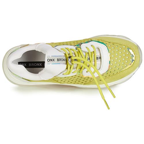 Basses Chaussures Bronx Jaune Baisley Femme Baskets 35jAL4R