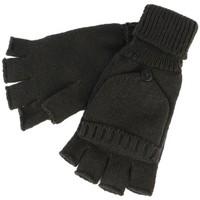 Accessoires textile Homme Gants Nyls Création Gants Mitaine et Moufle Noir en Laine Carpsy Noir