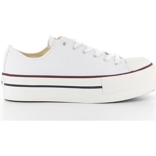 Chaussures Femme Baskets basses Victoria 061100 blanc