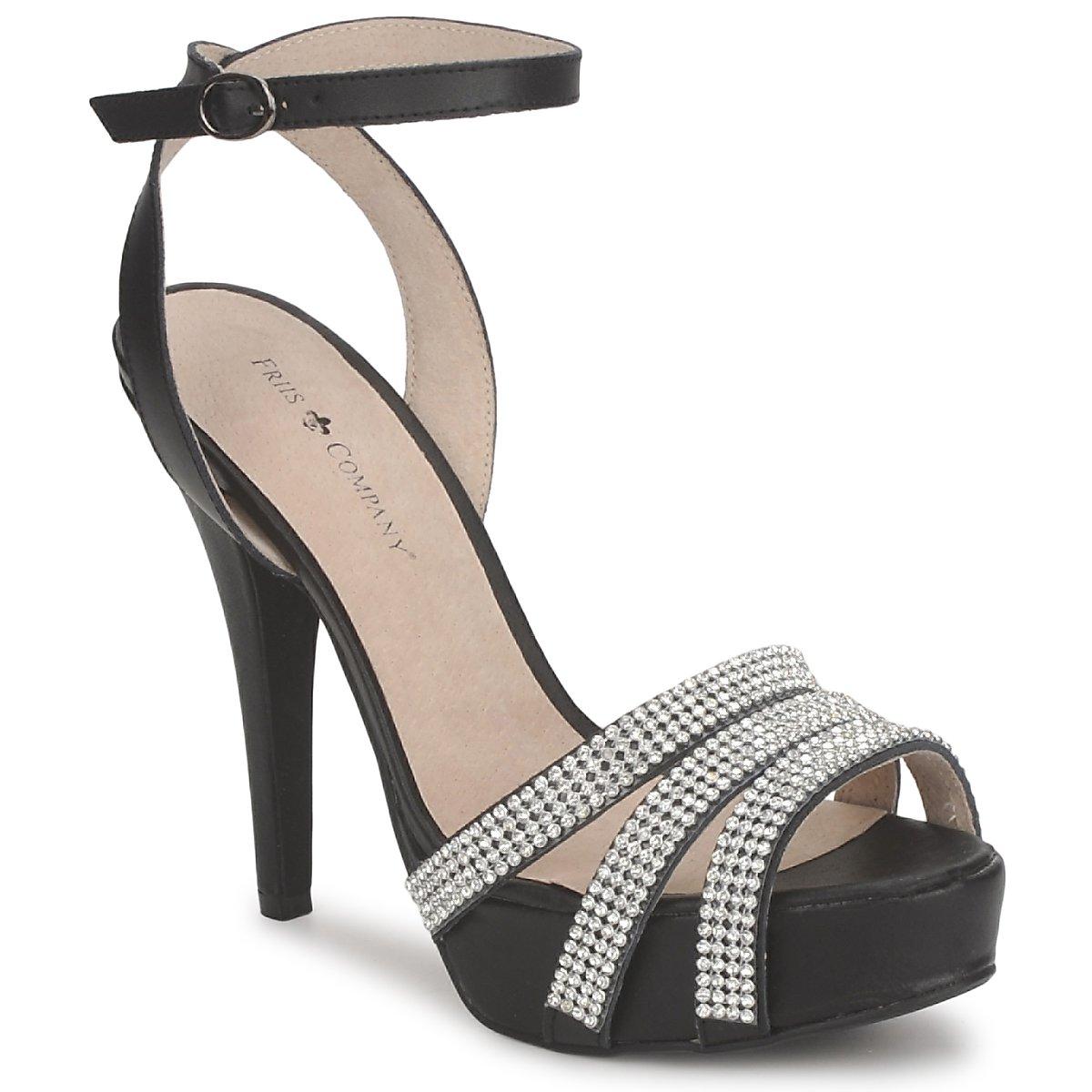 Sandale Friis & Company CORTNAY Noir