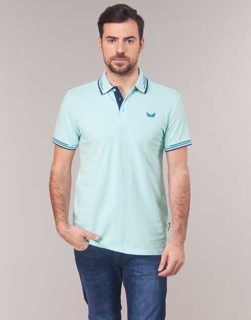 Kaporal Homme Courtes Bleu Polos Nayoc Manches byvYf67g