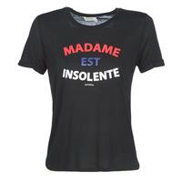 Vêtements Femme T-shirts manches courtes Kaporal FACTO Noir