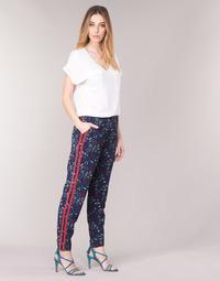 Vêtements Femme Pantalons fluides / Sarouels Kaporal BABY Marine / Multicolore