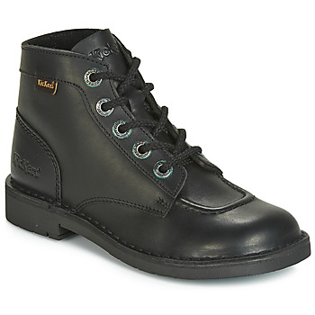 Chaussures Femme Boots Kickers KICK COL Noir