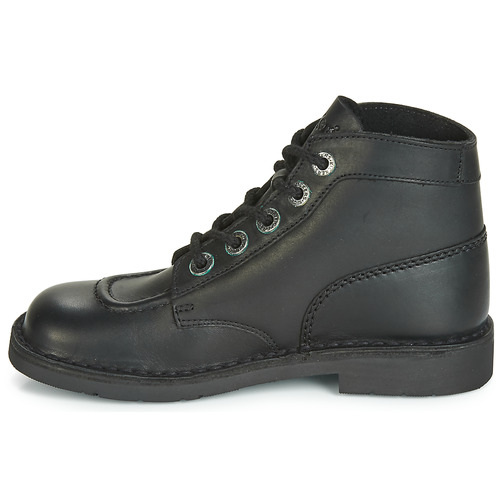 Noir Boots Kickers Col Chaussures Kick Femme MpUzqSV