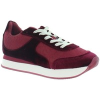 Chaussures Femme Baskets basses Desigual Baskets  Galaxy Lottie ref_des-45078 3099 Bordeaux Rouge