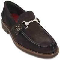Chaussures Homme Mocassins Luis Gonzalo 7599H Zapatos de Hombre Marron