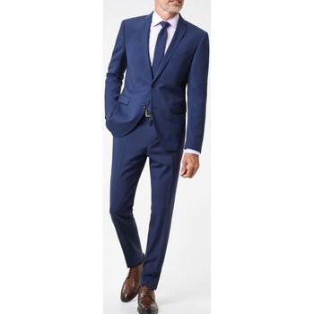 Vêtements Homme Costumes  Kebello Costume 2 boutons régular H Bleu Bleu