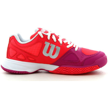 Chaussures Enfant Sport Indoor Wilson Rush Pro Jr Rouge