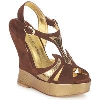 Chaussures Femme Sandales et Nu-pieds Terry de Havilland FARAH CHOCOLAT