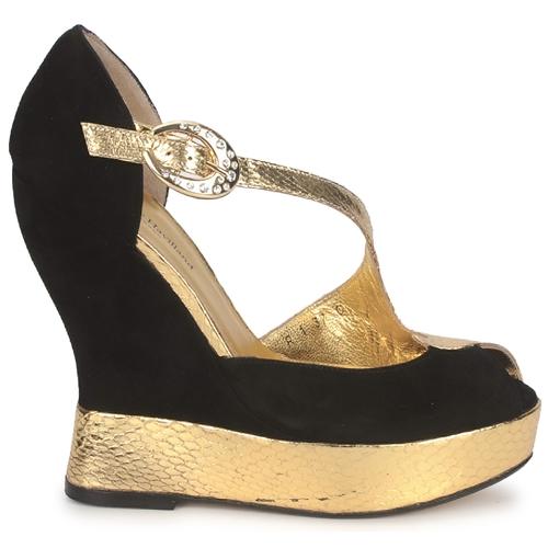 Nu Chaussures De Terry Et Black Sandales pieds Havilland Penny Femme gold Rj354AL