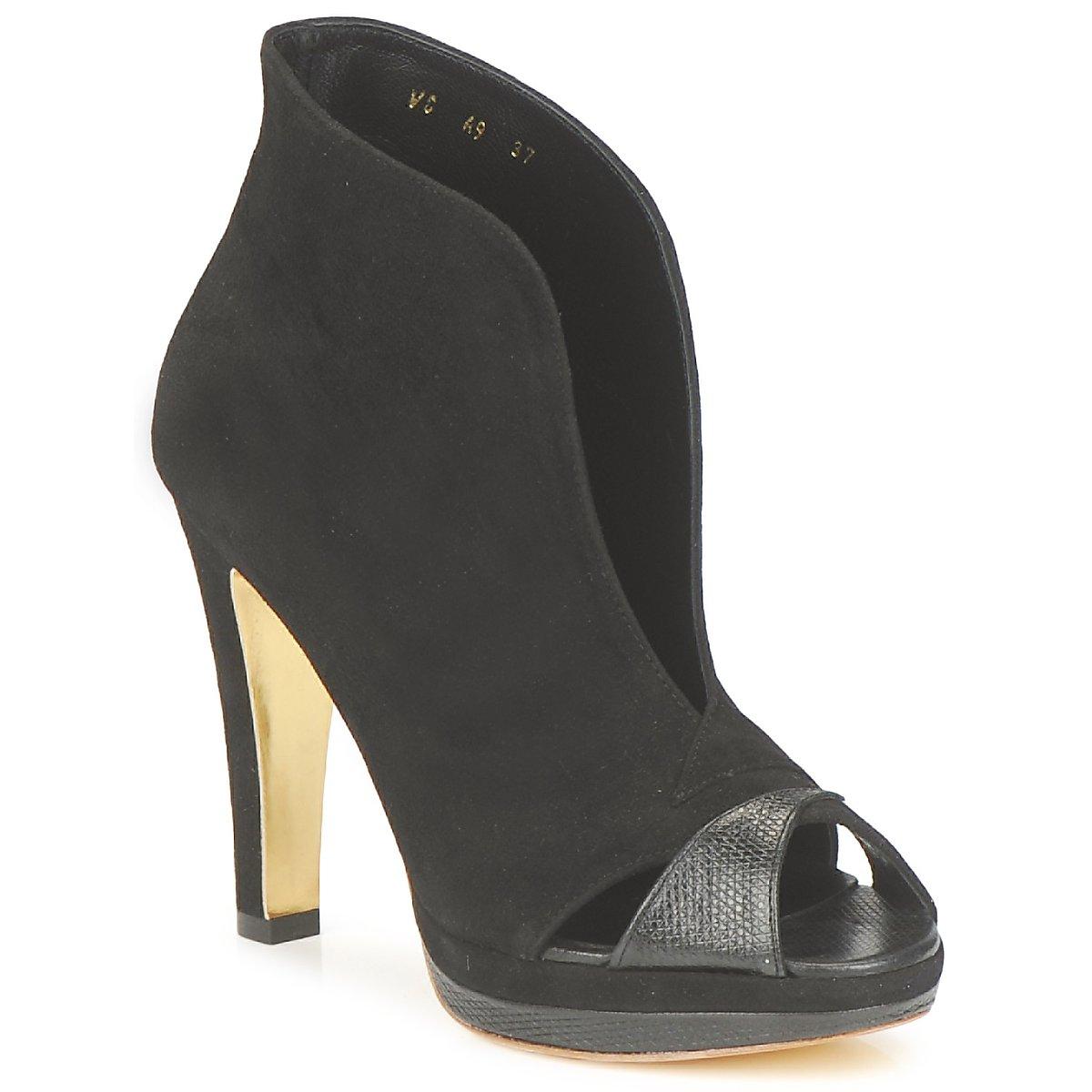 Gaspard Yurkievich A9-VAR7 Noir - Livraison Gratuite avec  - Chaussures Low boots Femme