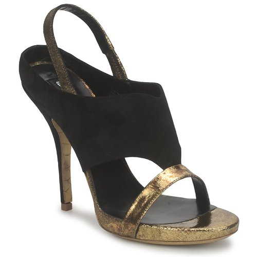Chaussures Femme Sandales et Nu-pieds Gaspard Yurkievich T4 VAR7 Noir / Or