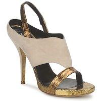 Chaussures Femme Sandales et Nu-pieds Gaspard Yurkievich T4 VAR8 Beige / Or