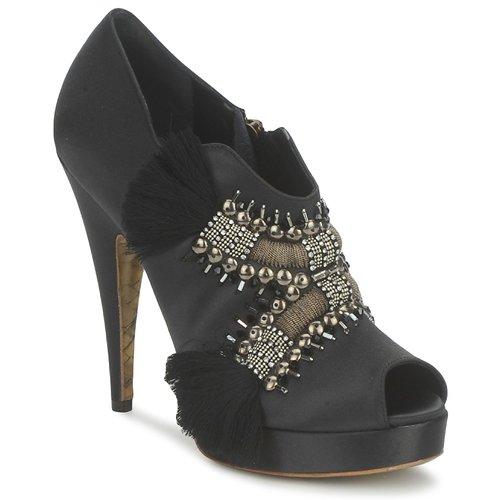 Chaussures Femme Low boots Gaspard Yurkievich P1 VAR1 Gris