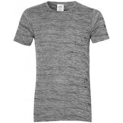 Vêtements Homme T-shirts manches courtes Asics Tee-shirt Gris