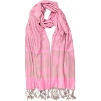 Accessoires textile Echarpes / Etoles / Foulards Léon Montane Echarpe Pashmina rose petale et argent avec soie Patna Rose