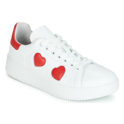 Chaussures Femme Baskets basses Yurban JIBOUILLE Blanc
