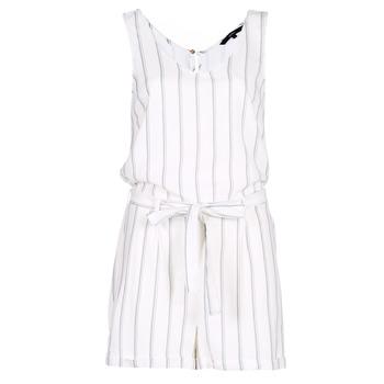Vêtements Femme Combinaisons / Salopettes Vero Moda VMANNA Blanc / Bleu