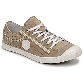 check out 11909 10b22 Chaussures Femme Baskets basses Pataugas BISK MIX Taupe