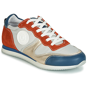 Chaussures Femme Baskets basses Pataugas IDOL/MIX Orange / Beige / Bleu