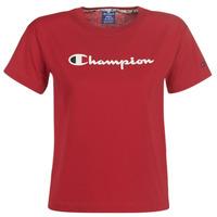 Vêtements Femme T-shirts manches courtes Champion 111393-RIR Bordeaux