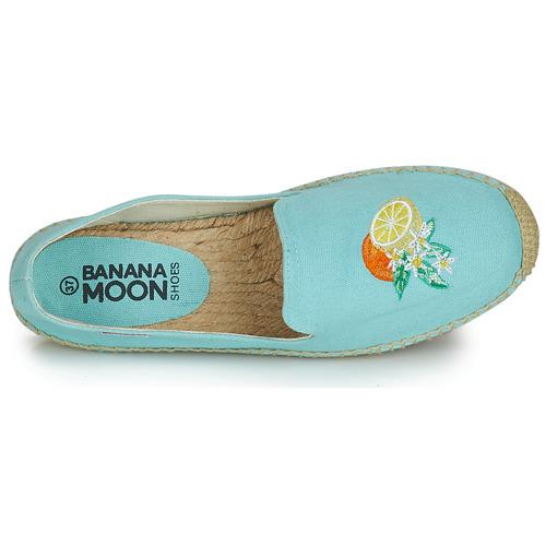 Banana Bleu Lairis Espadrilles Femme Moon SGVqMpUz