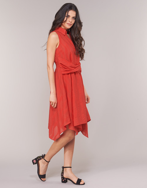 EMBARCATION  Derhy  robes courtes  femme  rouge