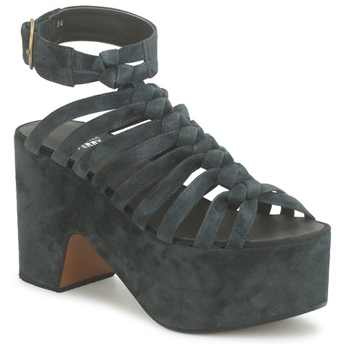 Chaussures Femme Sandales et Nu-pieds Michel Perry 12676 DARK