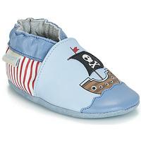 Chaussures Garçon Chaussons bébés Robeez PIRATE'S BOAT Bleu