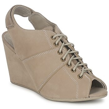 Bottines / Boots No Name DIVA OPEN TOE Beige 350x350
