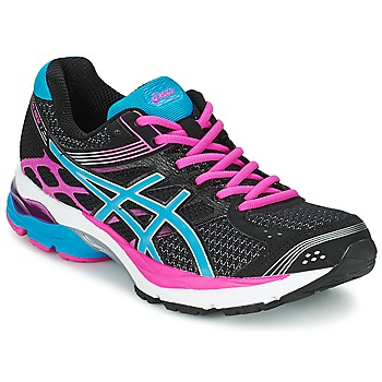 Chaussures Femme Running / trail Asics GEL-PULSE 7 Noir / Turquoise / Rose