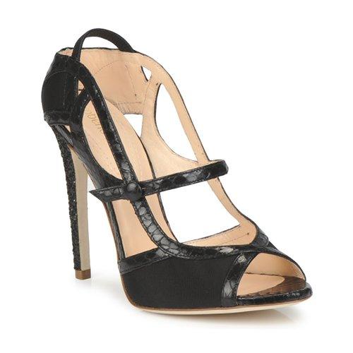 Chaussures Femme Sandales et Nu-pieds Roberto Cavalli RPS678 Noir