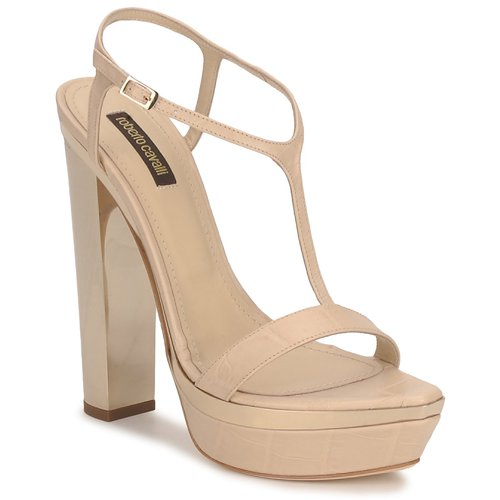 Chaussures Femme Sandales et Nu-pieds Roberto Cavalli RDS735 Beige / Nude