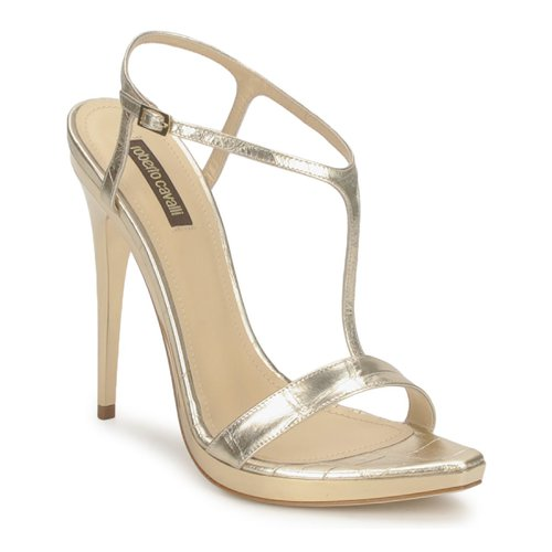 Chaussures Femme Sandales et Nu-pieds Roberto Cavalli RDS736 Gold