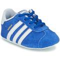 Chaussures Enfant Baskets basses adidas Originals GAZELLE CRIB Bleu