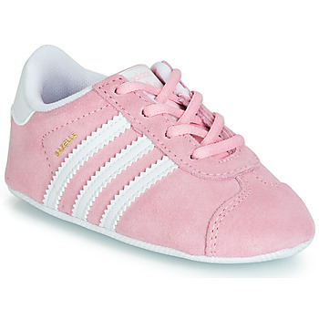 Chaussures Fille Baskets basses adidas Originals GAZELLE CRIB Rose
