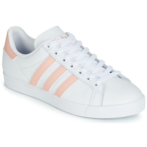 Basses Adidas Baskets Femme BlancRose Originals Courstar doreWBCx