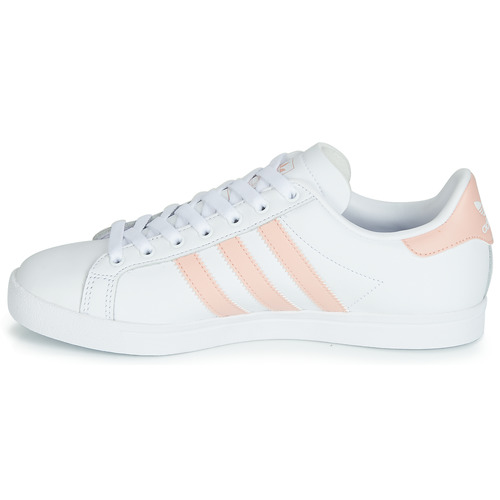 Originals Adidas Basses Femme Courstar BlancRose Baskets E9DWHI2