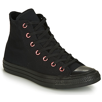 Chaussures Femme Baskets montantes Converse CHUCK TAYLOR ALL STAR HEARTS CANVAS HI Noir