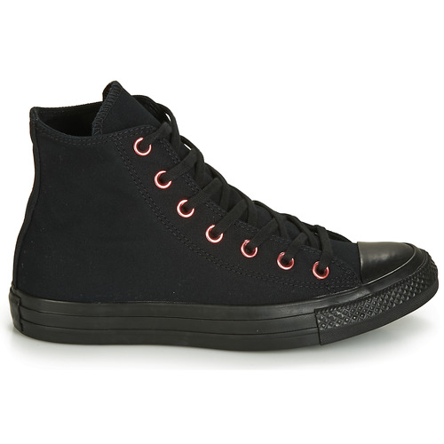 Hearts Femme All Baskets Montantes Chuck Converse Star Taylor Canvas Noir Hi sQrdthCx
