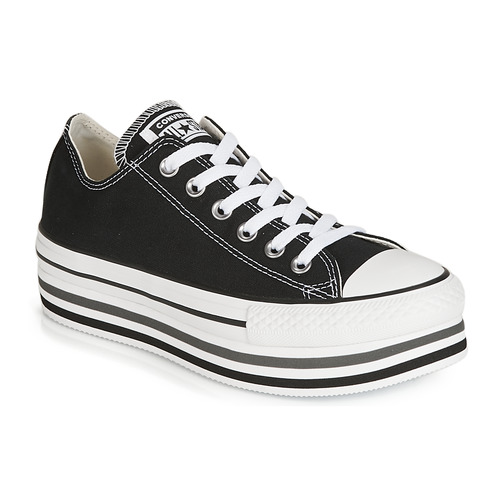 Chaussures Femme Baskets basses Converse CHUCK TAYLOR ALL STAR PLATFORM EVA LAYER CANVAS OX Noir