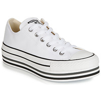 Chaussures Femme Baskets basses Converse CHUCK TAYLOR ALL STAR PLATFORM EVA LAYER CANVAS OX Blanc