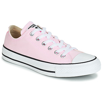 7edaa2df4b9683 Chaussures Femme Baskets basses Converse CHUCK TAYLOR ALL STAR SEASONAL  CANVAS OX Rose