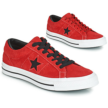 Chaussures Homme Baskets basses Converse ONE STAR DARK STAR VINTAGE SUEDE OX Rouge