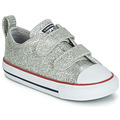 Chaussures Fille Baskets basses Converse CHUCK TAYLOR ALL STAR 2V SPARKLE SYNTHETIC OX Gris