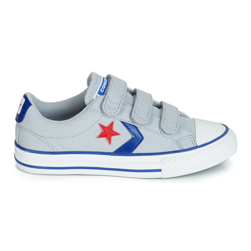 Basses Enfant Chaussures Player Baskets Gris Canvas 3v Converse Star Ox D29IEeWYbH