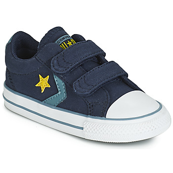 Chaussures Enfant Baskets basses Converse STAR PLAYER 2V CANVAS OX Bleu