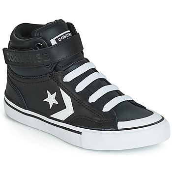 the latest 659f2 9d241 Chaussures Enfant Baskets montantes Converse PRO BLAZE STRAP LEATHER HI Noir